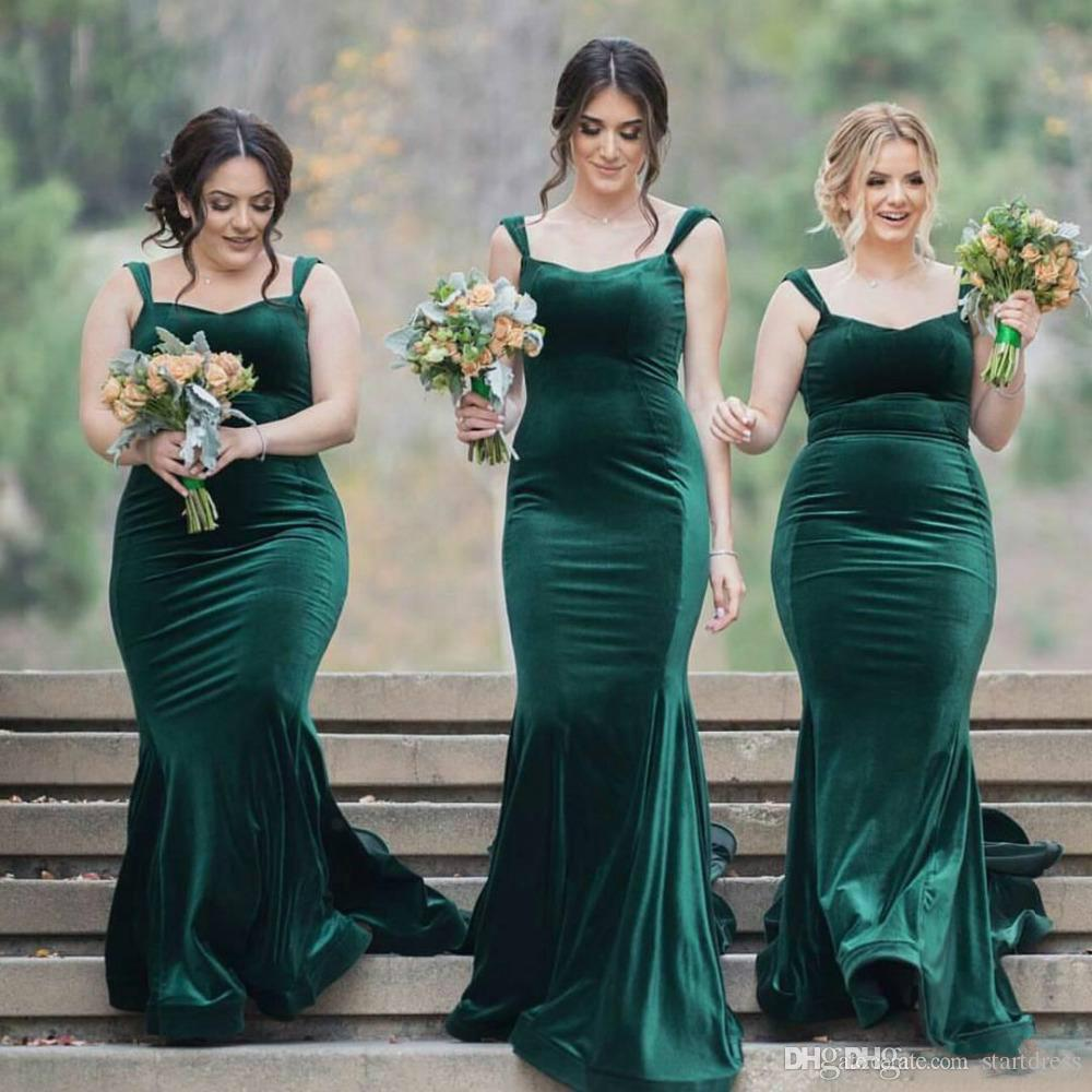 Cheap Emerald Green Country Bridesmaid Dresses Plus Size ...