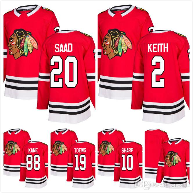 2018 Star Mens Jonathan Toews 88 Patrick Kane 10 Patrick Sharp 2 ... 0fb3194bb