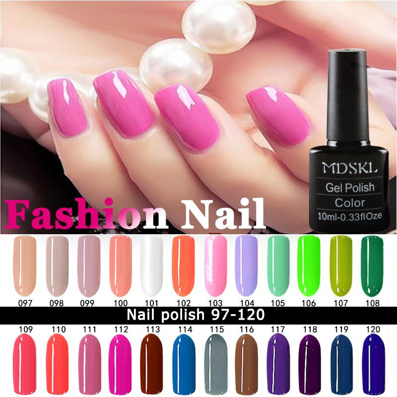 Wholesale Mdskl Nail Polish 10ml High Quality Candy Long Lasting Diy Beauty Art Tools For Choose Soak Off Gel Nails Covergirl Xl From Guaye