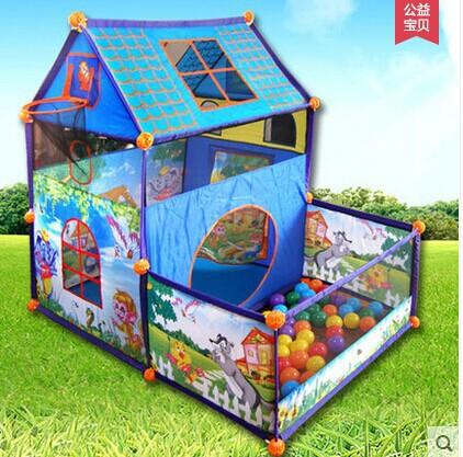 child indoor tent. Kids Tent Super Game Room Toy Home Indoor House Dunk Children s Play  Baby Ball Pool Outdoor A3 Iceberg Stick Floats for