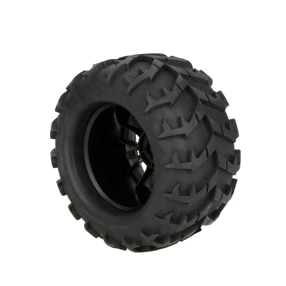 RC 1/8 Car Wheel Rim and Tire 810006 for Traxxas HSP Tamiya HPI Kyosho RC Car order<$18no track