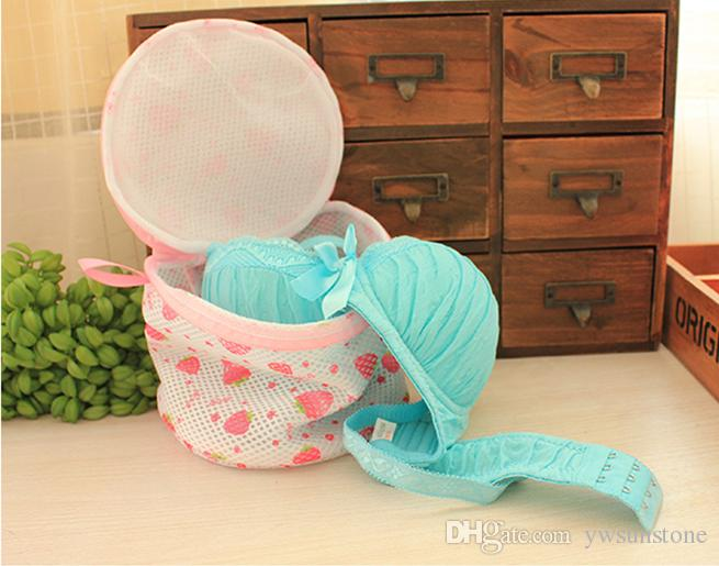 High Quality Women Bra Laundry Lingerie Washing Hosiery Saver Protect Aid 2 layers Mesh Bag Cube