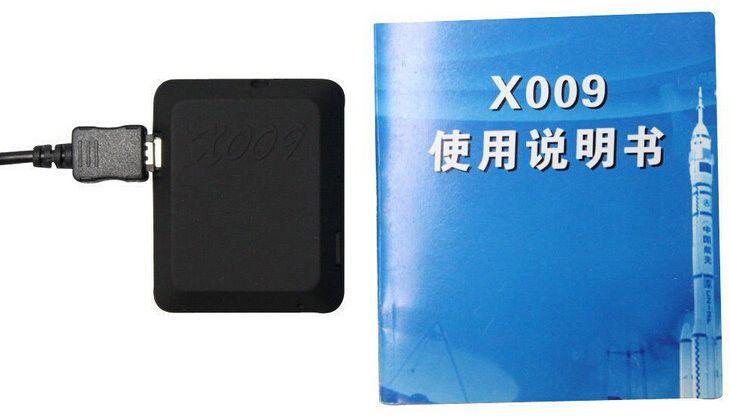 새로운 X009 카메라 모니터 비디오 레코더 SOS GPS DV GSM 카메라 850 / 900 / 1800 / 1900MHz 카메라 지원 TF 카드