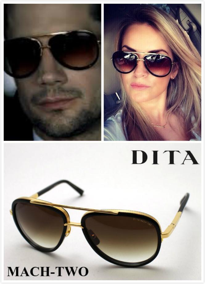 Gold Mach Sunglasses Eyewear Black Mirror Men Dita 18k Polarized Summer Two Women qSzMUVp