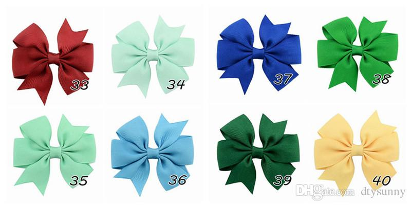 high quality grosgrain ribbon bows for hair bows,children hair accessories,baby hairbows girl hair bows with clip