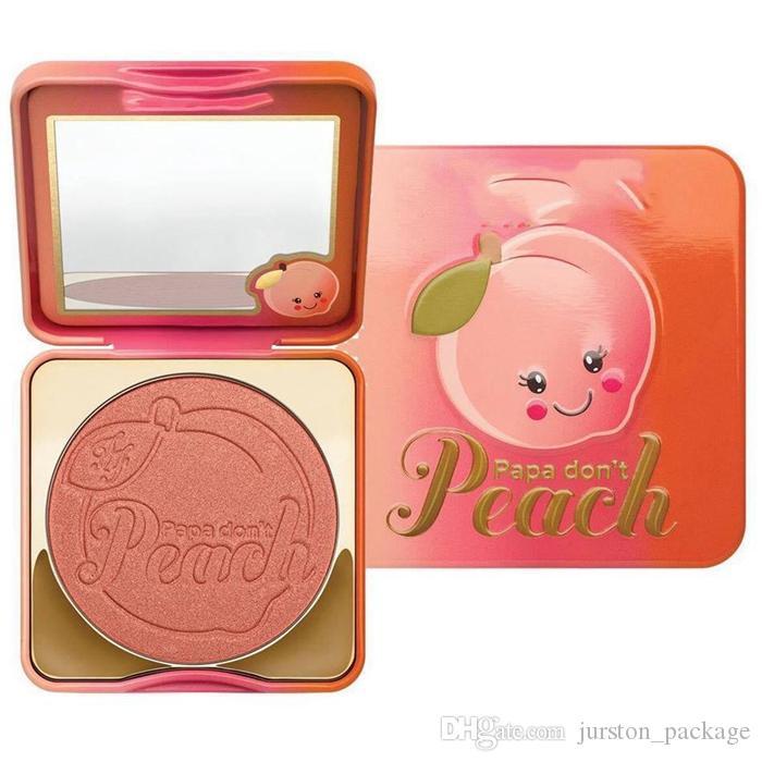 2017 Newest Arrival T Sweet Peach Papa Don't Peach Blush Single Color 9g Sugar Pop Totally Cute Blush Face Makeup Free Ship