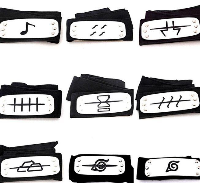 PrettyBaby Naruto Headband Leaf Village Logo Konoha Kakashi Akatsuki  Members Metal Headband Cosplay Costume Accessories UK 2019 From The one 3983add2633