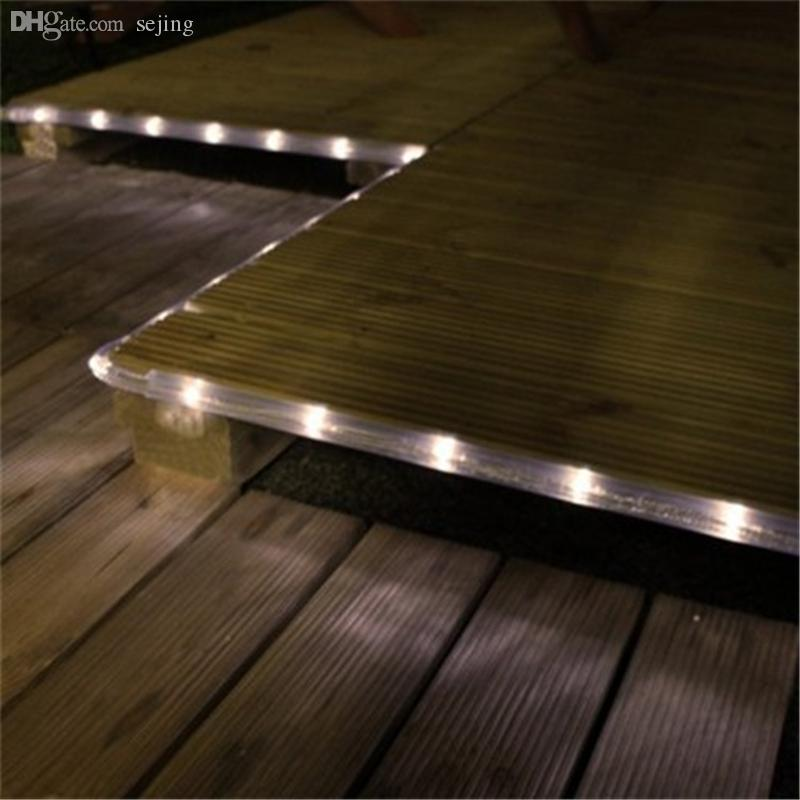Wholesale 100 led solar powered waterproof rope light warm white wholesale 100 led solar powered waterproof rope light warm white rope headband rope light colors rope wedding online with 4124piece on sebastianis store aloadofball Images