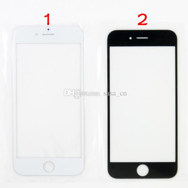 A+ quality outer glass lens For iphone 6 6 plus front glass Replacements for ip5 5s 5c 4 4s