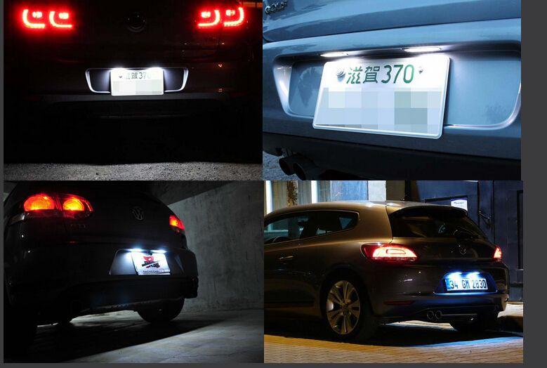 2x VW targa SMD LED Light Error GTI CC Eos Scirocco