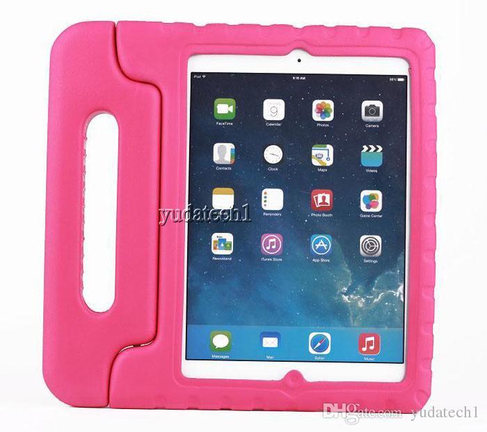 Child Kids Shock Proof Foam Drop Resistance EVA Cover Case Handle Stand For iPad Mini 1 & 2