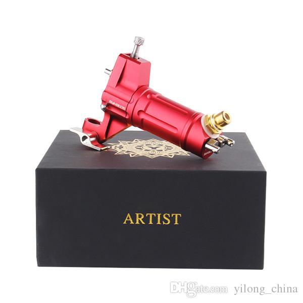 Freies Verschiffen Rotary Tattoo Maschine 1 teile / los Rote Farbe EIKON Tattoo Maschinengewehre Shader Und Liner Tattoo Für BodyArt