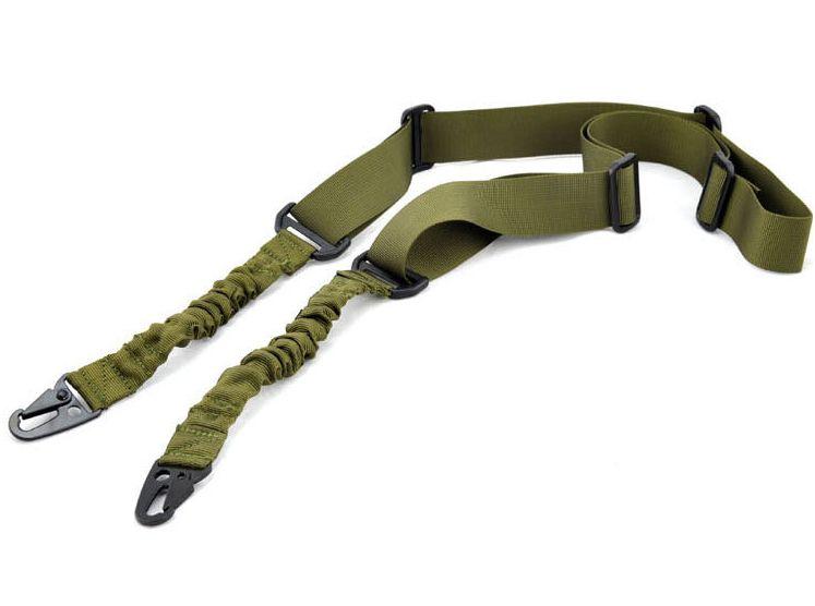 Регулируемый AR15 M4 тактический 2 две точки банджи слинг для винтовки страйкбол