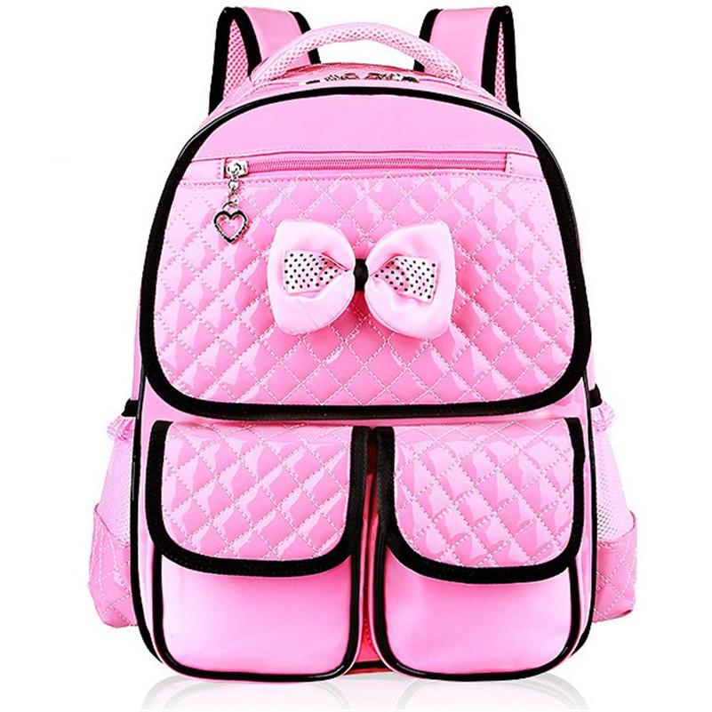 08ce25f4b4 New Fashion Children School Bags Girls High Quality Pu Children Backpack  School Backpacks Child Book Bag 2018 Z332 Travel Bags Online Kids Suitcases  From ...