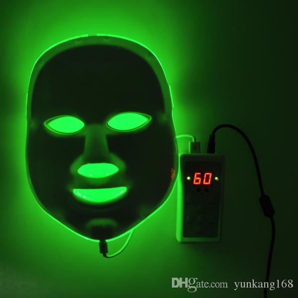 Korean LED Photodynamic Facial Mask Home Use Beauty Instrument Anti-acne LED Skin Rejuvenation LED Photodynamic Facial Mask