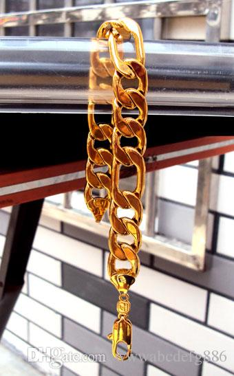 18 K REAL OURO AMARELO REAL DOS HOMENS 31g HOT 8.26
