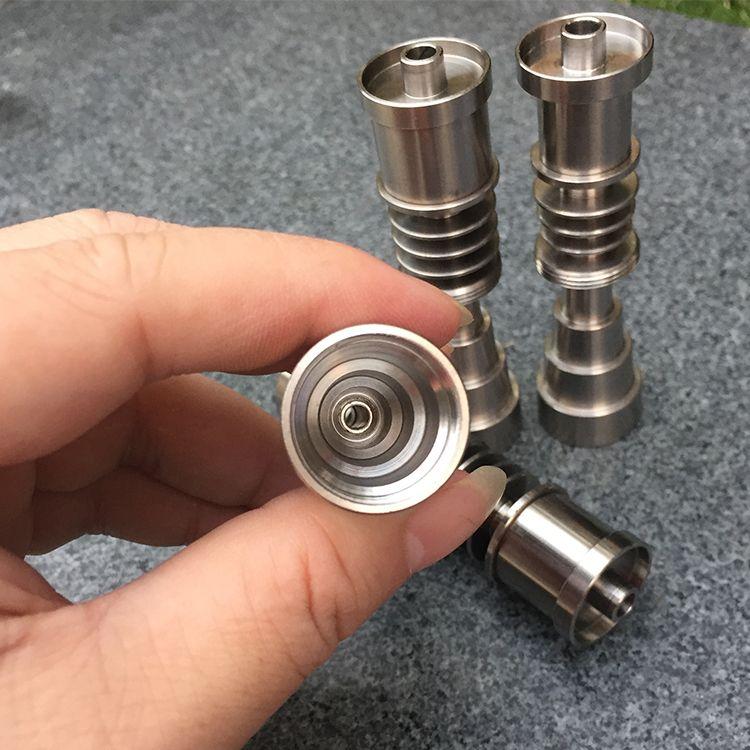 Free Shpping Domeless Titanium Nagel Titanium GR2 Nails Joint 10mm 14mm und 18mm Glas Bong Wasserpfeife Glasrohre Universal und bequem