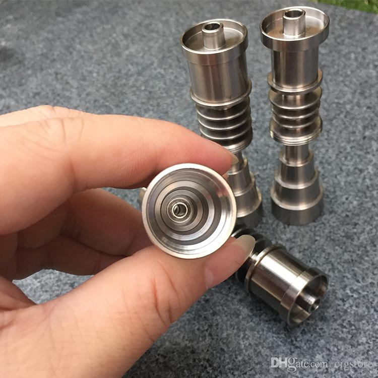 Universal domeless titanium nails 10mm 14mm 18mm joint for male and female domeless nail gr2 quality suit for all the glass bongs