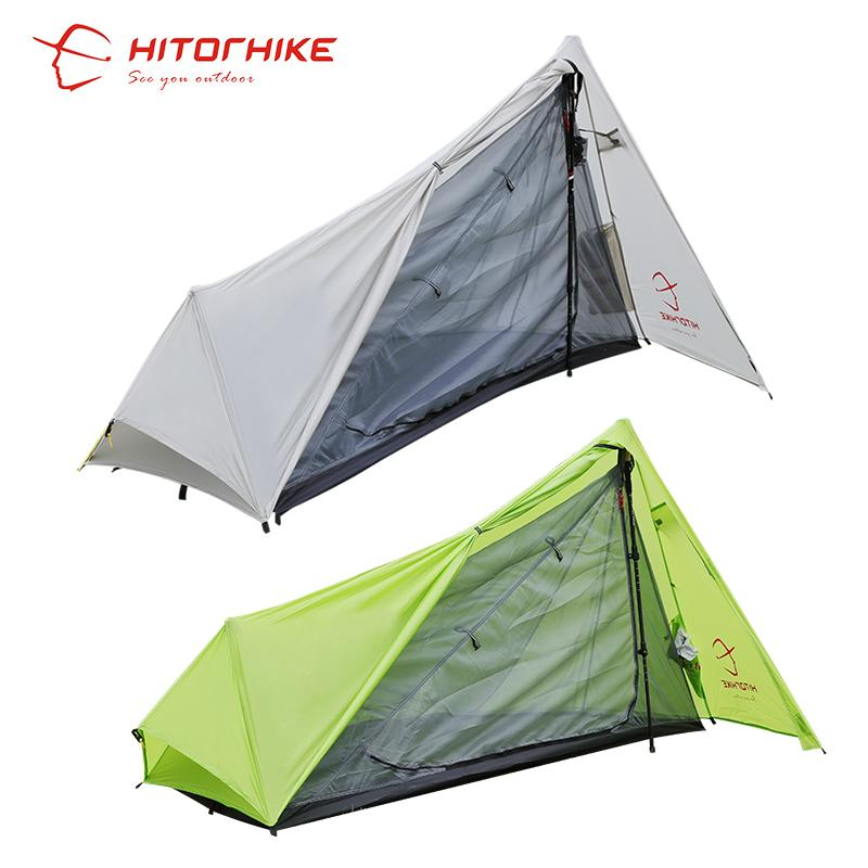 Wholesale Hitorhike Tent 800g Silicon Coating 2018 New Arrival Ultralight 3 Seasons 1 Person C&ing Hiking Tent Easy Tent Set Up By Pole Family C&ing ...  sc 1 st  DHgate.com & Wholesale Hitorhike Tent 800g Silicon Coating 2018 New Arrival ...