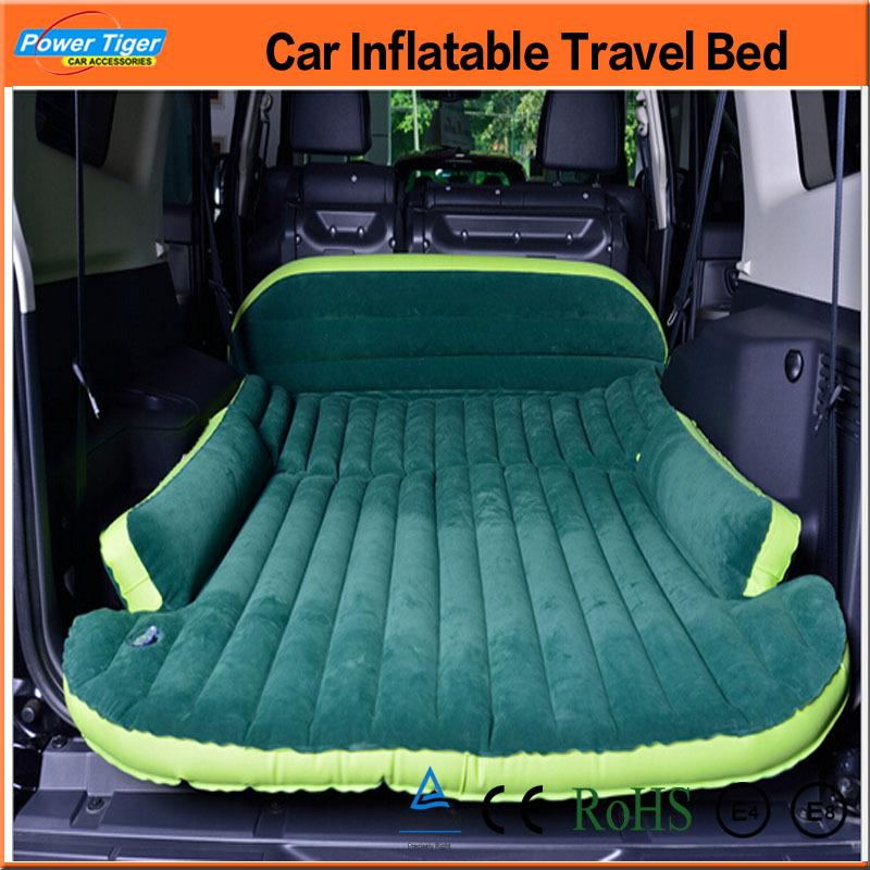 EMS Big Size Car Inflatable Bed Outdoor Travel Car Air Mattress