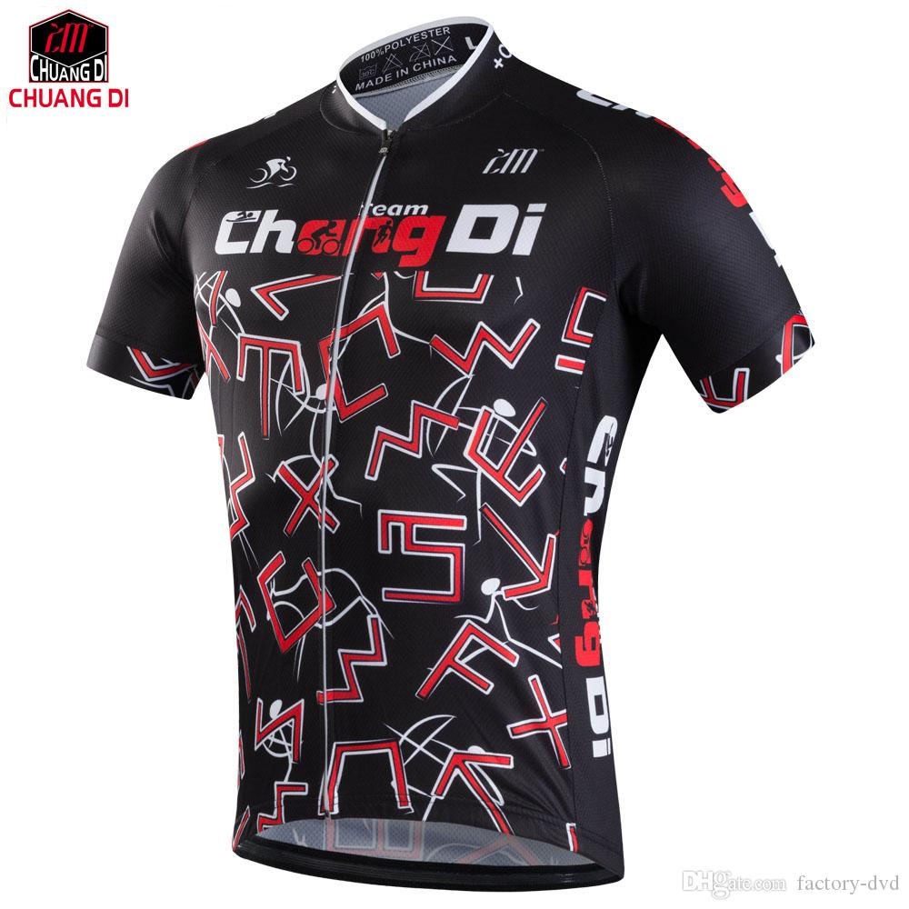 3e9a431a6 New Chuangdi Bike Ciclismo Cycling Ciclismo Jersey Sport Riding Breathable  Bicycle Shirt Top Quick Dry Men Cycling Jersey Cycling Jersey Men Cycling  Jersey ...