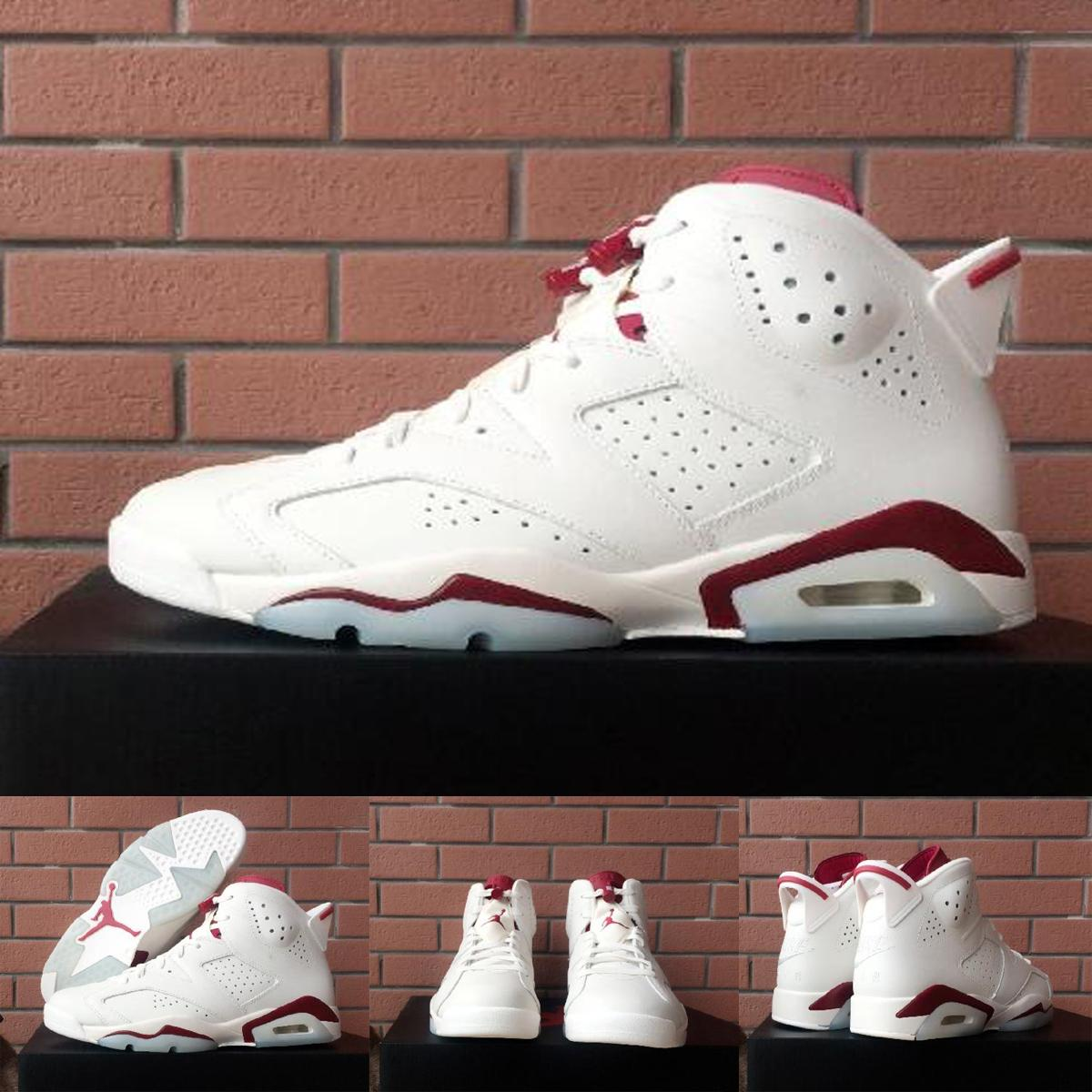 newest collection 7ae6f 040e7 ... Nike Air Jordan 6 Maroon Mens Jordan Pro Strong White Black Red shoes |  PADDER HEALTH SERVICES, LLC.