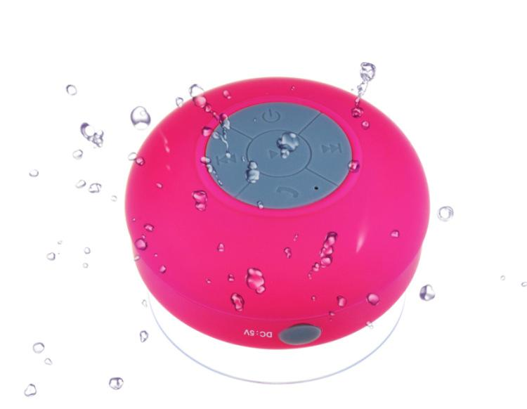 Bluetooth wasserdichte Lautsprecher Dusche drahtlose Lautsprecher BTS-06 Handfree Sucker für iPhone 5 5S 4S Samsung S4 Smartphone mit Kleinkasten US06