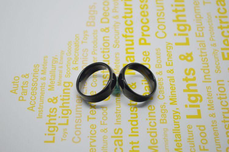 10 pçs / lote Hot Sales Classic Black Black Tungsten Ring 8mm Largura Comfort Fit Cobalto Grátis