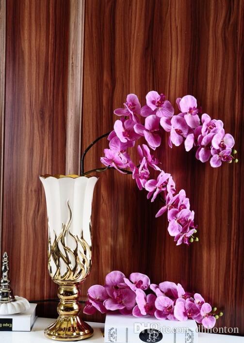 Autumanl Мотылек орхидея цветок бабочка орхидея искусственный цветок pu цветок для дома свадебные украшения весь saler бесплатная доставка DHL HM015