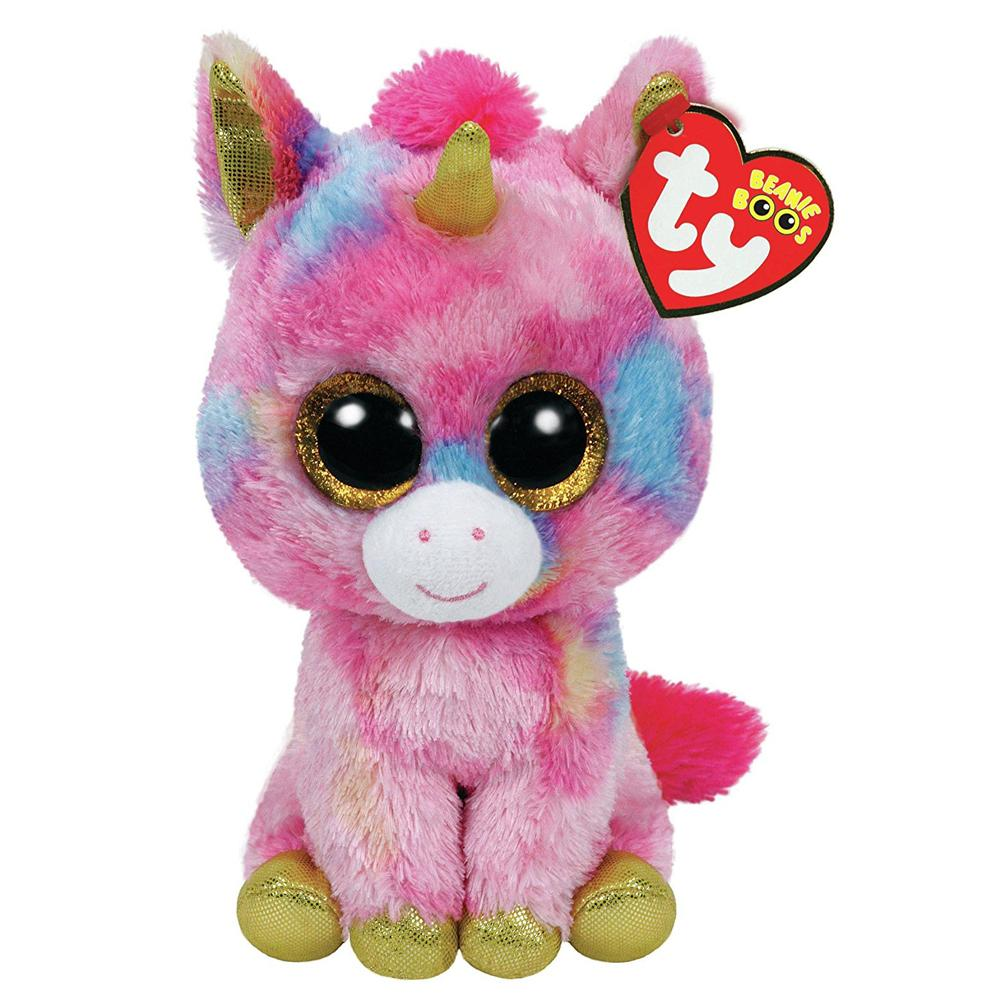 Pyoopeo TY Beanie Boos 6 18cm Fantasia The Unicorn Beanie Babies Plush  Stuffed Doll Toy Collectible Soft Big Eyes Plush Toys UK 2019 From Rh baby e35ba980a9