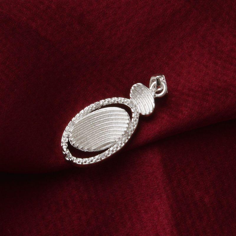 Бесплатная доставка мода высокое качество 925 Серебряный Циркон кристалл алмаза ювелирные изделия 925 Серебряное ожерелье День Святого Валентина праздничные подарки горячие 1639