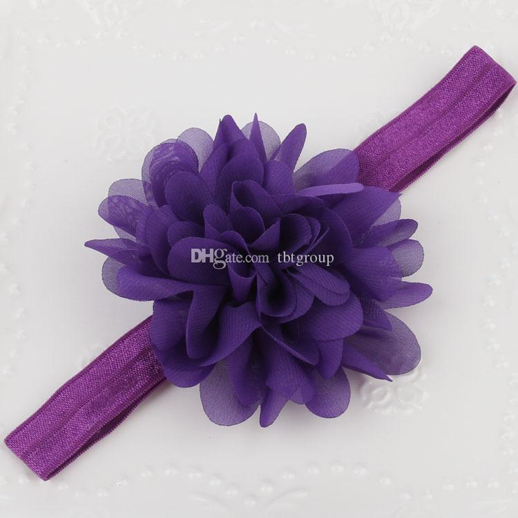 Kids Girl Baby Headband Toddler Lace Bow Flower Hair Band Accesorios Headwear Nueva llegada Head band