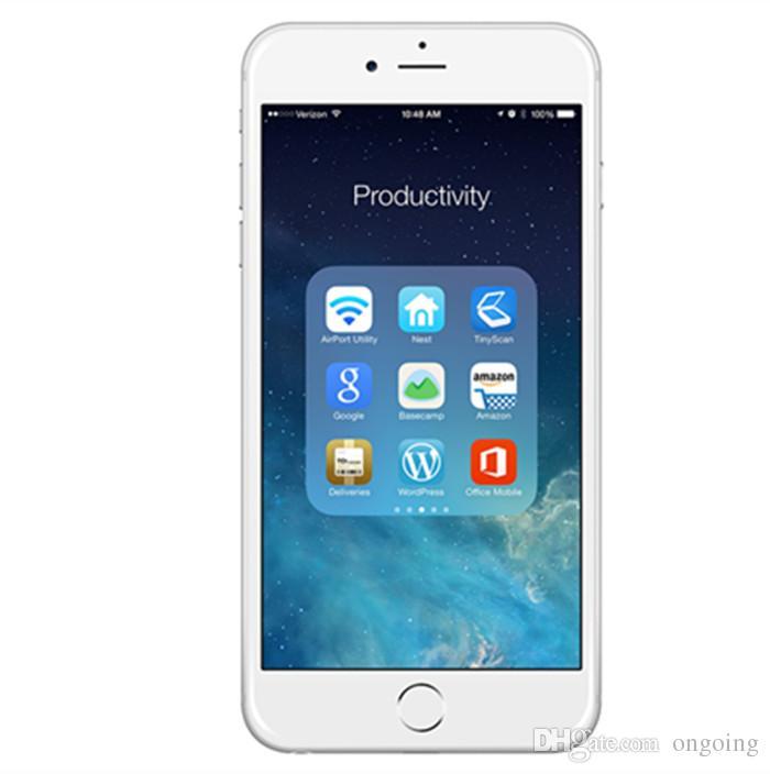 IOS12 Téléphones cellulaires Apple iPhone 6 reconditionnés 16G IOS Rose Or 4.7