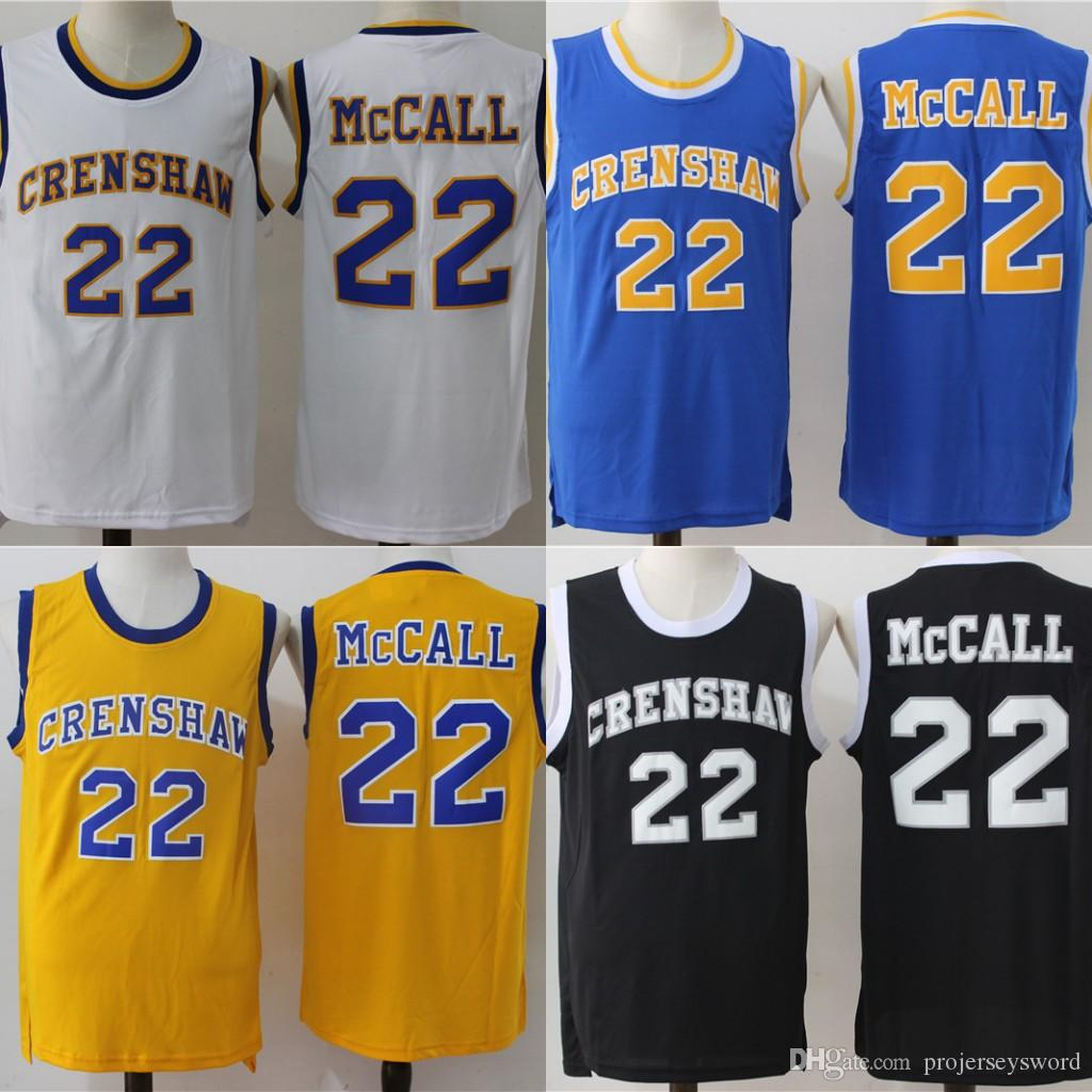 ad3fd8c0b5b9 2019 Mens LOVE And BASKETBALL MOVIE JERSEY QUINCY McCALL CRENSHAW Monica  Wright 100% Stitched Basketball Jerseys High Quality From Projerseysword
