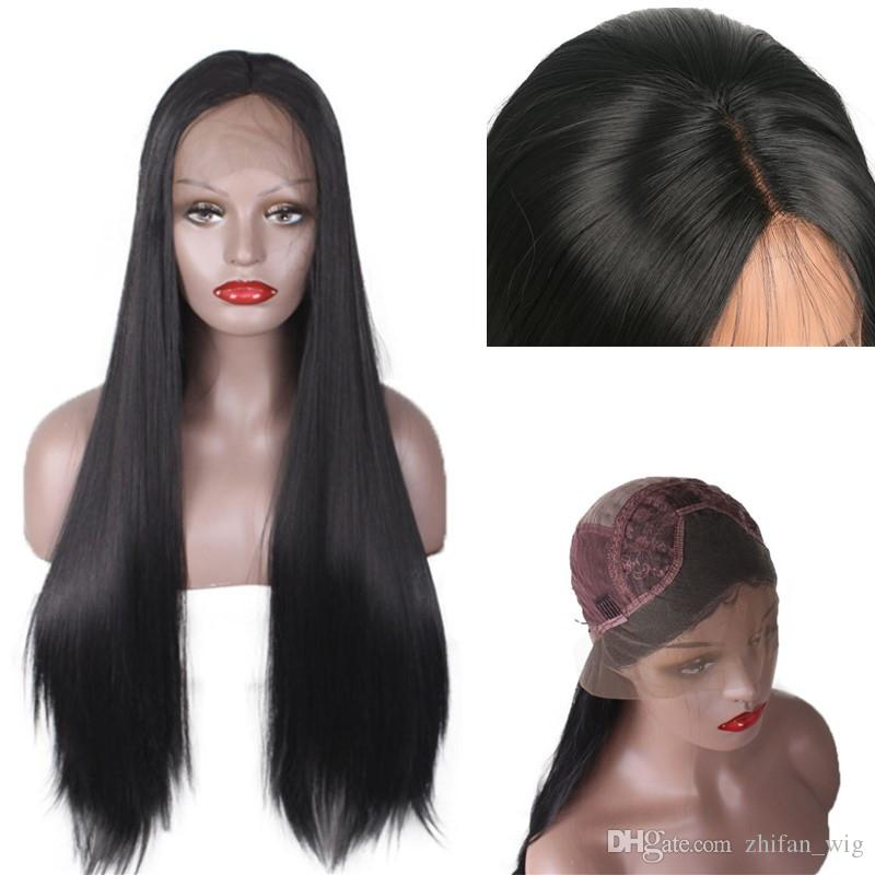 Z&F Lace Front Wigs Synthetic Wigs For White