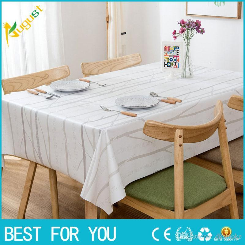 95a2712f431 High Quality European Style PVC Waterproof   Oil Proof Tea Table ...
