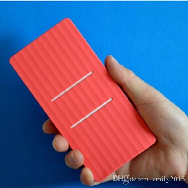 Hot! Xiaomi Power Bank High Quality Silicone Case Cover for Xiaomi 20000mAh Powerbank 20000 mAh External Battery Pack Protector