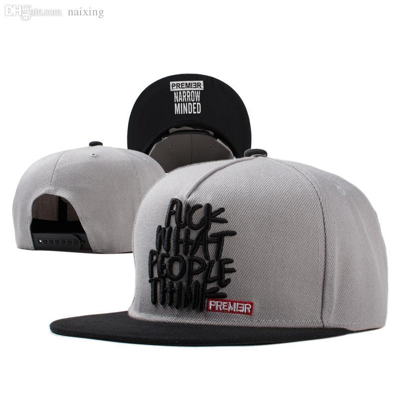 Wholesale 2016 New Fashion Snapback Baseball Cap Flat Brimmed Hat Visor Hat  Wild Personality Hip Hop Hats For Men Women Richardson Hats Headwear From  ... 6c27992e2f