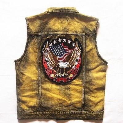Black Orange & White Harley Davidson H-D Straight Banner Patch. Embroidered  ...
