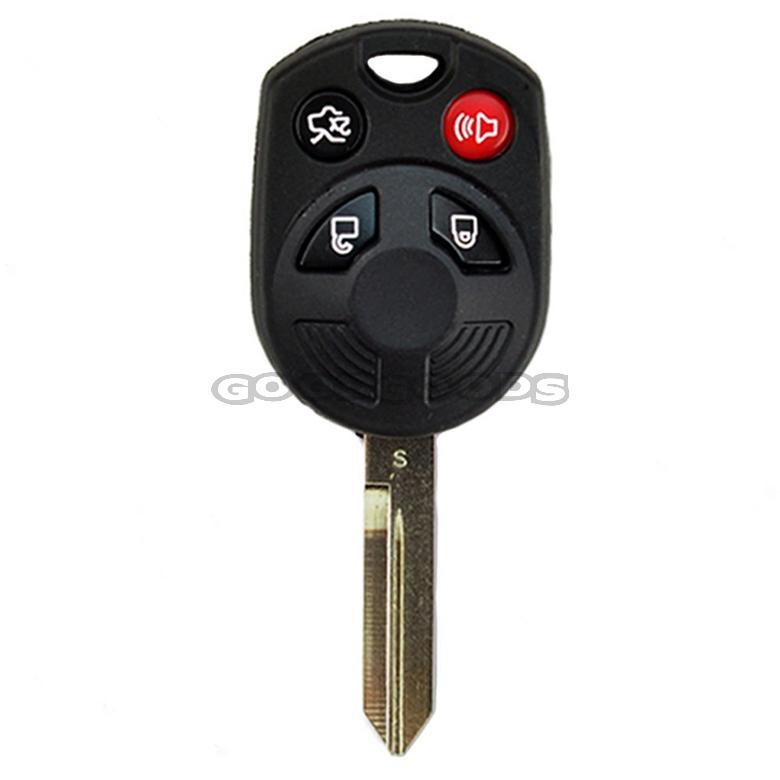 2019 New 4 Buttons Remote Car Key Shell Case Fob Covers For Ford Mercury Ranger Fusio Taurus X