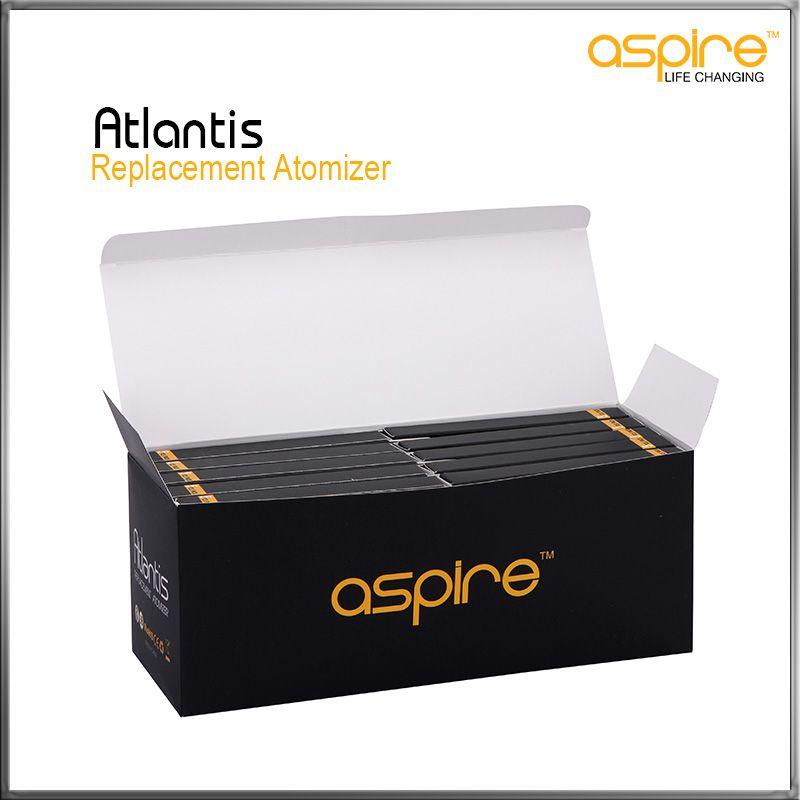 100% Authentiques Atomiseurs de Remplacement Authentiques Aspire Atlantis BVC Bas Bobines Verticales Atlantis Sub ohm Bobine 0.5 0.3 1.0 Ohm Disponibles