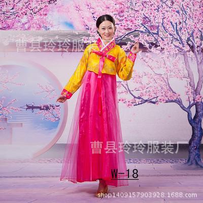 Dae Jang Geum Korean costume adult costumes ethnic clothing Hanbok Korean traditional dance female models