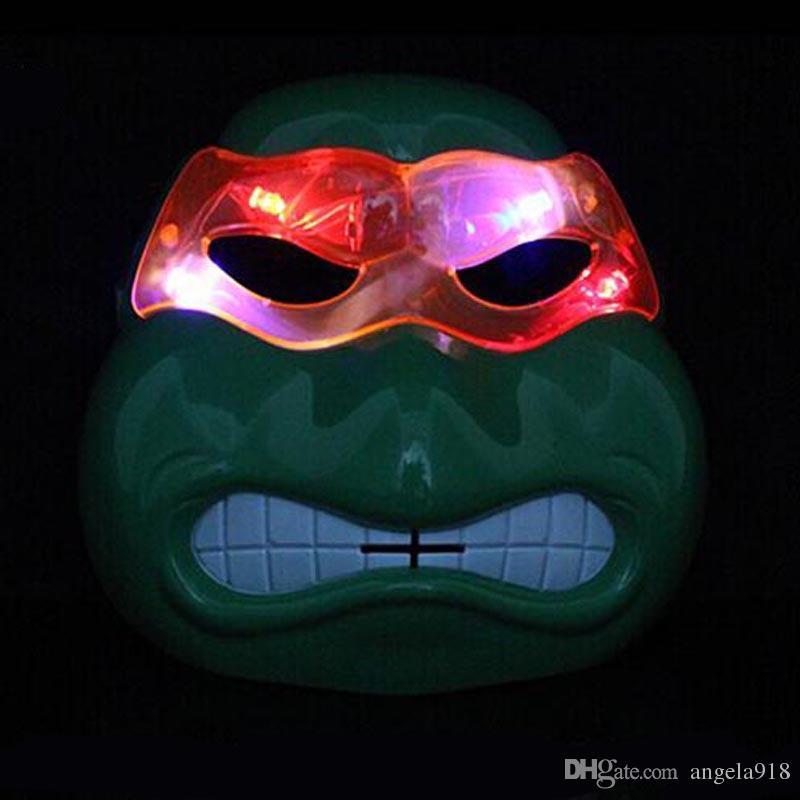 Máscara led superhéroe Hulk Capitán América Iron Man máscara teatro Prop novedad o niños favoritos