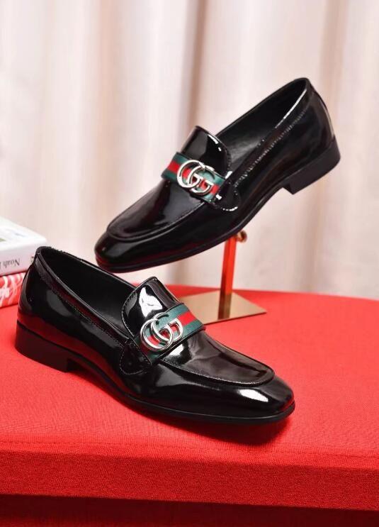 Italian Men Genuine Leather Dress Shoes