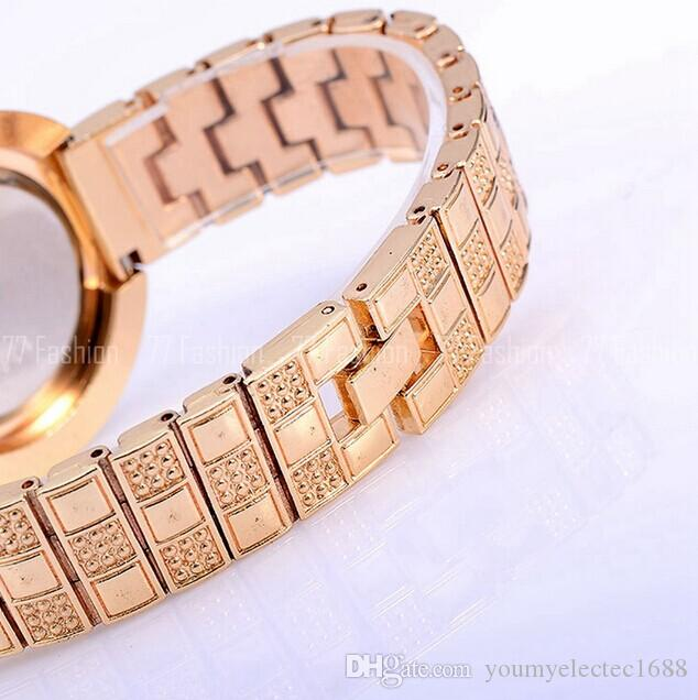 NEW HOT Luxury special square face grid pattern diamonds decoration alloy wrist watch Woman girl good gift watch