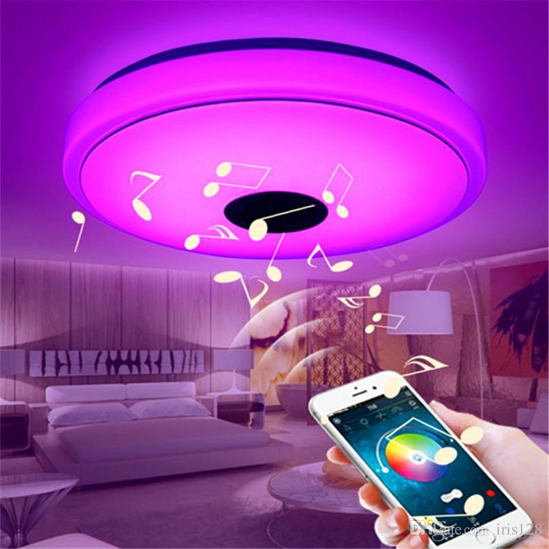 Großhandel Bluetooth Smart Musik Decke Telefon Handy APP Kontrolle  Beleuchtung Bunte Disco Kreative Lampe Wohnzimmer Schlafzimmer Licht Von  Iris128, ...