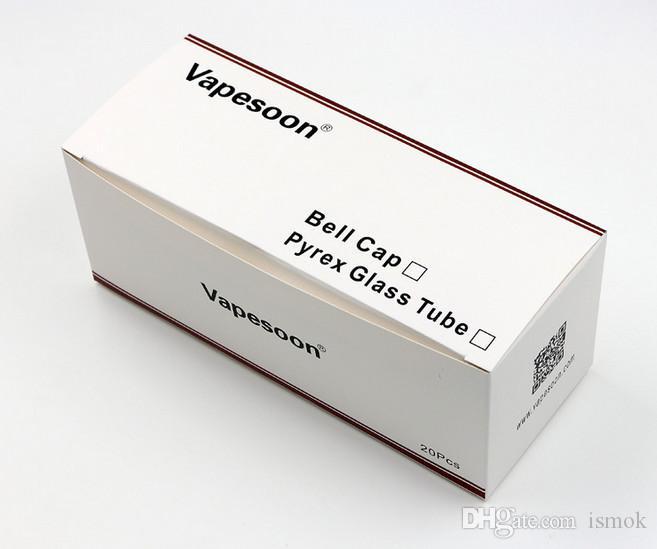 Оригинальная замена Vapesoon Стеклянная трубка Pyrex для Kanger Toptank Mini Бак Распылитель Kanger Topbox Mini Subvod Mega TC Стартовые комплекты