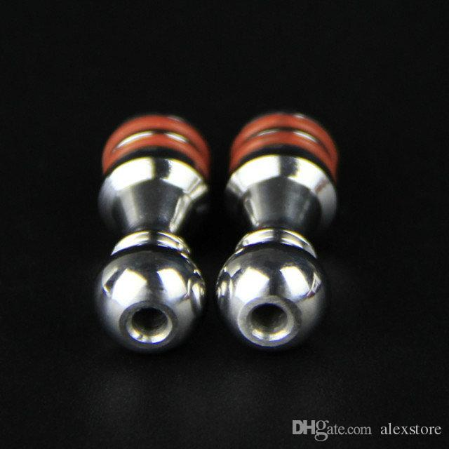 Five Pawns 510 Drip Tips Stainless Steel Mouthpiece With Double O Rings fit 5 Pawns RDA Atomizer RBA Kayfun Lite Plus Acessorios