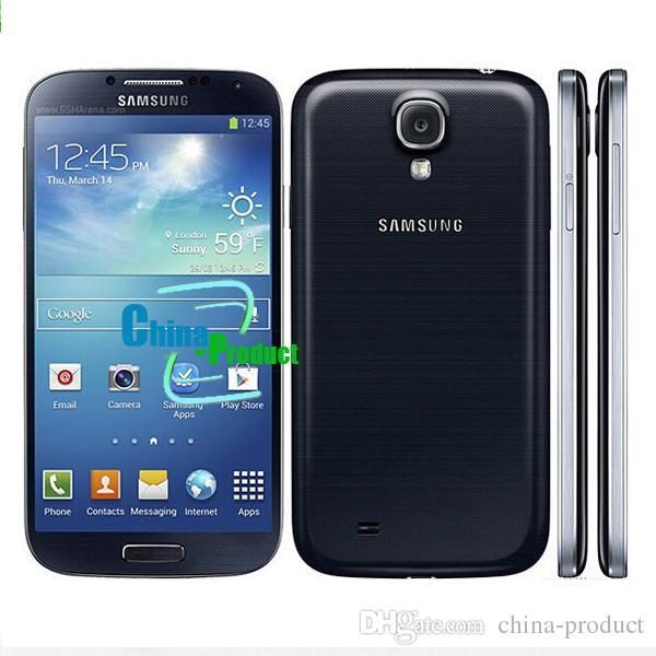 Original Samsung Galaxy S4 GT-i9500 refurbished i9500 5.0 inch NFC 3G Quad Core Android 4.2 16GB Storage unlocked phones
