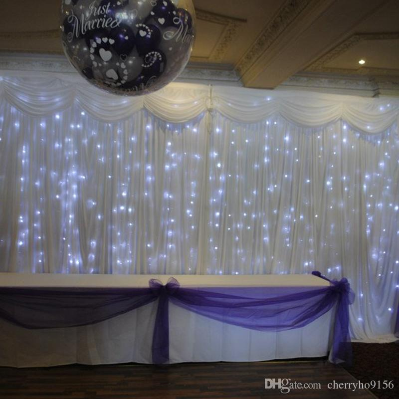 Cheap wedding backdrop led curtain light white wedding stage cheap wedding backdrop led curtain light white wedding stage background curtains wedding drapery china event party supplier purple wedding decor recycled junglespirit Choice Image